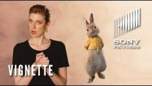 "Video: PETER RABBIT Vignette - Elizabeth Debicki as ""Mopsy"""
